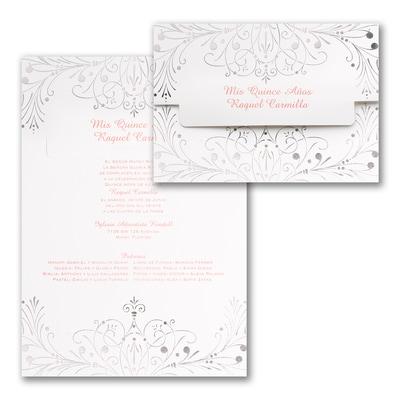 Enchanted Evening - Invitation - Silver