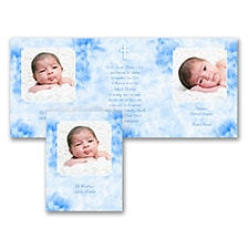 Baptism Christening Invitation: Gift of God