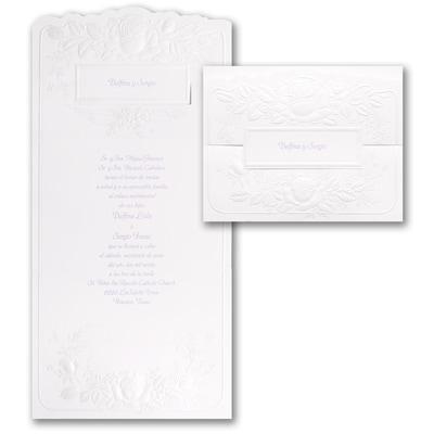 Pearl Roses - Invitation
