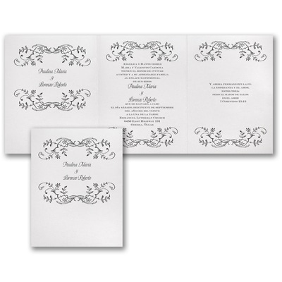 Whimsical Wedding - Invitation