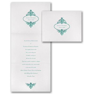 Florentine Crest - Invitation
