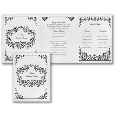 Rosy Frame - Invitation