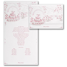 Magical Gardens - Invitation - Pink