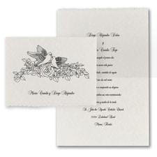 Doves in Love - Invitation