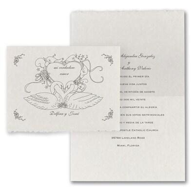 Love Swans - Invitation