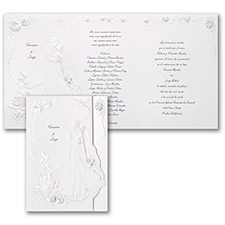 Wedding Invitation: Midnight Romance