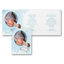 Baptism Christening Invitation: Sweet Cherub