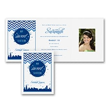 Swanky Sixteen Soirée - Chicago - Invitation