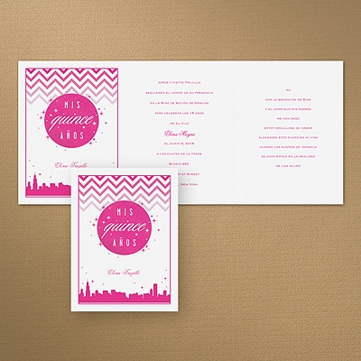 City Chic Quince - Chicago - Invitation