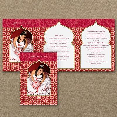 Exotic Style - Invitation - White Envelope
