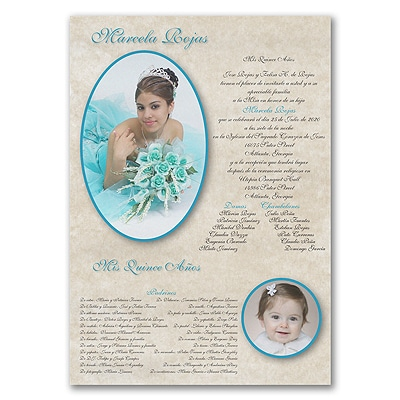 All Grown Up - Invitation Scroll