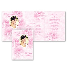 Quinceañera Invitation: Watercolor Flourish