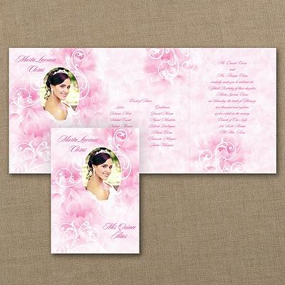 Watercolor Flourish - Invitation