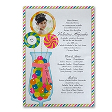 Quinceañera Invitation: Sweet Celebration