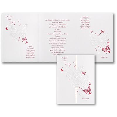 Beautiful Butterflies - Invitation