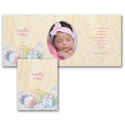 Newborn Celebrations - Invitation