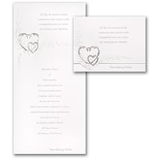 Sterling Hearts - Wedding Invitation