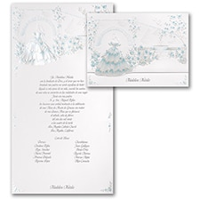 Magical Gardens - Invitation - Aqua