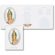 Quinceañera Invitation: Faithful
