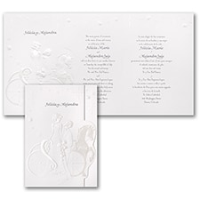 Elegant Wedding Carriage - Invitation