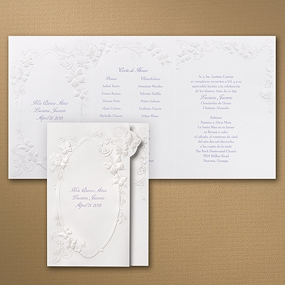 Floral Butterfly Fantasy - Invitation