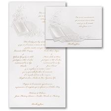 floral invitation: Perfect Love Pearl