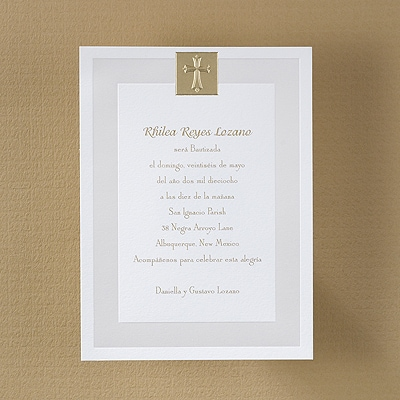 A Holy Event - Baptism Invitation