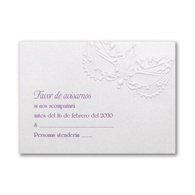 La Fiesta - Response Card and Envelope
