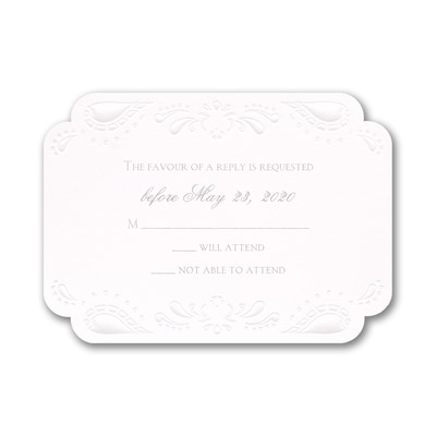 One and Only - Response Card and Envelope