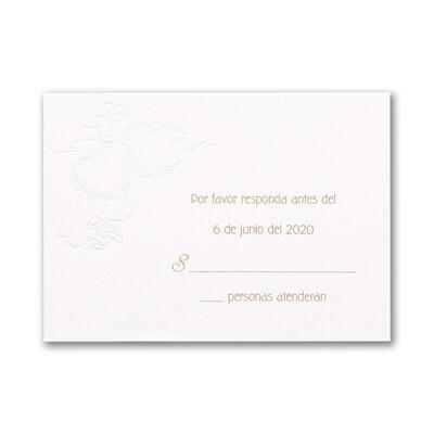 Mi Amor - Response Card and Envelope