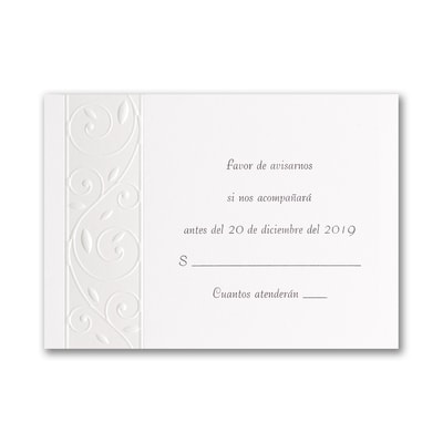 Everlasting Evening - Response Card and Envelope