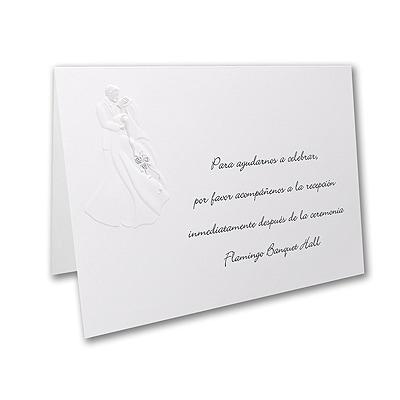 Midnight Romance - Reception Card