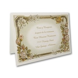 Glowing Beauty - Reception Card