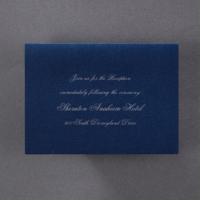 Sparkling Tiara - Reception Card