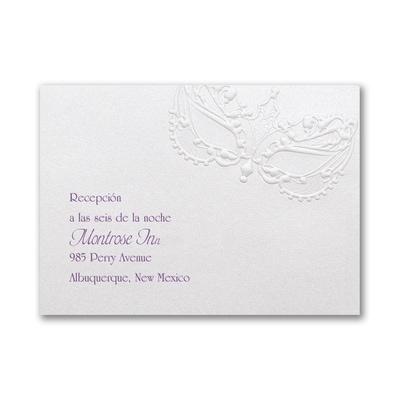 La Fiesta - Reception Card