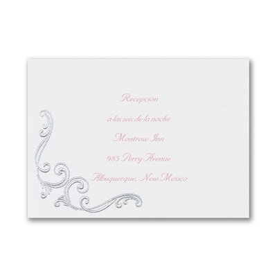 Royal Party - Reception Card