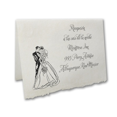 Happily Married - Reception Card