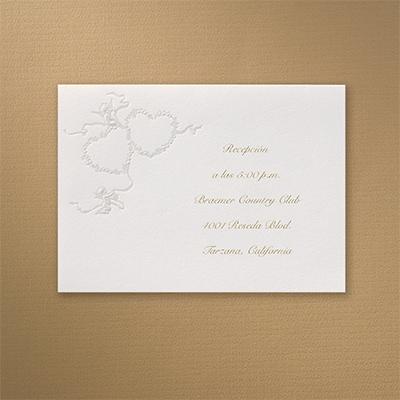 Captivating Cupids - Reception Card