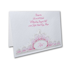Quince Crown - Reception Card