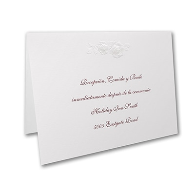 Quince Dream - Reception Card