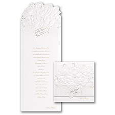 Sparkling Roses - Invitation