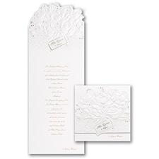 Quinceañera Invitation: Sparkling Roses
