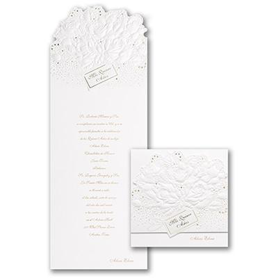 Sparkling Roses - Invitation
