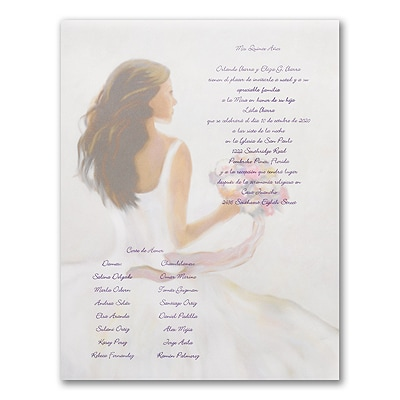 Vision of Beauty - Invitation Scroll