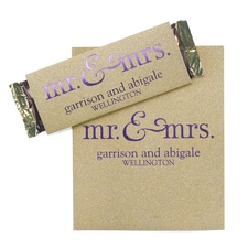 Sweetest Love - Gold Glitter Candy Bar Wrapper
