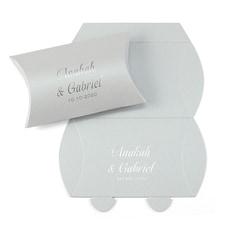 Precious Gift - Silver Shimmer Pillow Box