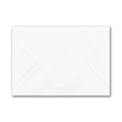 3 5/8 x 5 1/8 Thank You Euro Blank Envelope - White