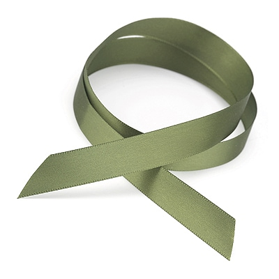 Satin Ribbon - Olive