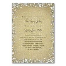 Wedding Invitation: Burlap Blossoms