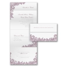 A Little Lace - All In One Invitation